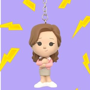 The Office Pam Beesly Keychain Funko